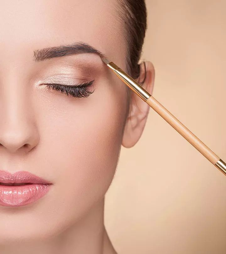 How To Fill In Your Eyebrows And Make Them Look Thicker in ...