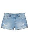Iris denim shorts
