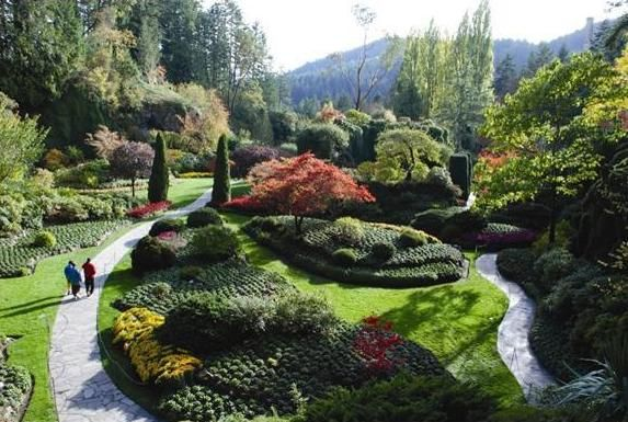 Butchart garden british columbia in british columbia - Best time to visit butchart gardens ...