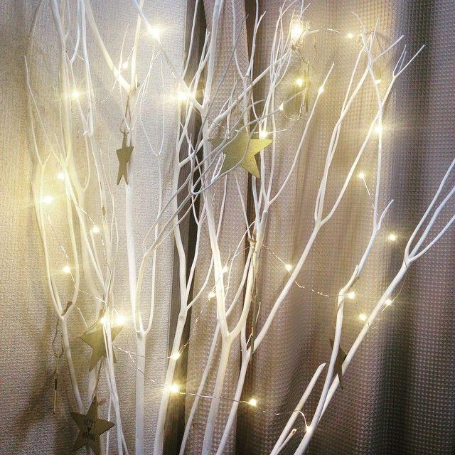 楽天で注文してた造木きたー!私のおへそくらいまである高さで大きかった😍テキトーに星とライトつけてみたらいい感じに✨✨置き場所ないからとりあえずソファ脇のインテリアに。 披露宴用の造木はあずさちゃんにお譲りいただけるので、これは挙式会場に使う予定😘注文したもの着々と届いてるのでまた紹介しますねー❤️ #プレ花嫁 #ウェディング #ウェルカムツリー #楽天 #造木 #星 #ハンドメイド #手作り #しーちゃんの購入品