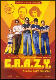 C.R.A.Z.Y. (2005) Canadá. Dir.: Jean Marc Vallée.  Drama. Familia. Homosexualidade. Anos 60-70. Drogas – DVD CINE 1687