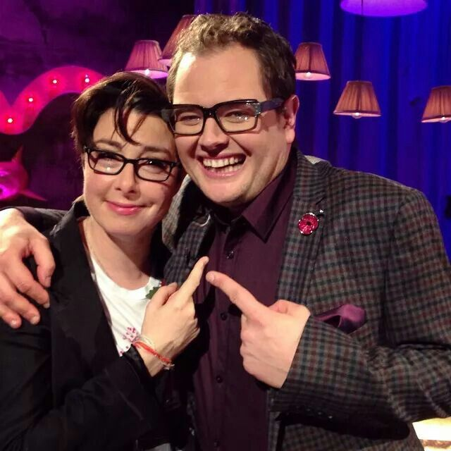 Sue Perkins and Alan Carr