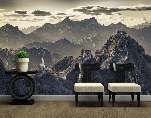 Selbstklebende Tapete - Fototapete Die große chinesische Mauer