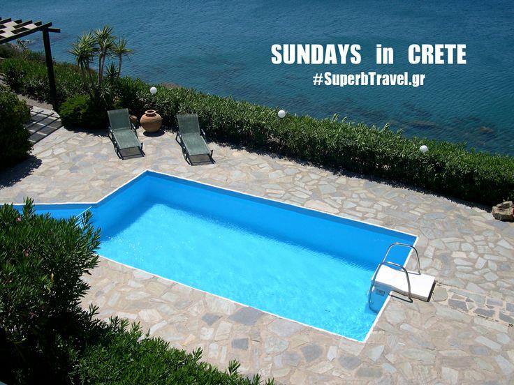 #Sundays by www.superbtravel.gr #South #Crete #Travel #Holidays #Villa