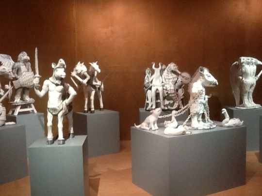 Explore 'Morling and the Hoard' at the Potteries Museum & Art Gallery, Stoke on Trent. They have now become part of the museum's permanent collection.