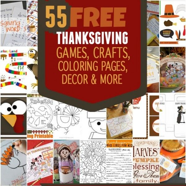 Would you like help with Thanksgiving preparations? You'll find games, crafts and decoration ideas in our Thanksgiving roundup of free printables!