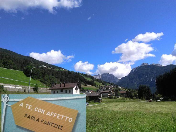 """""""Ehi, caro @ATeConAffetto, guarda dove ti ho portato questa volta!""""  #libro #ebook #game #emozioni #vacanza #montagna"""