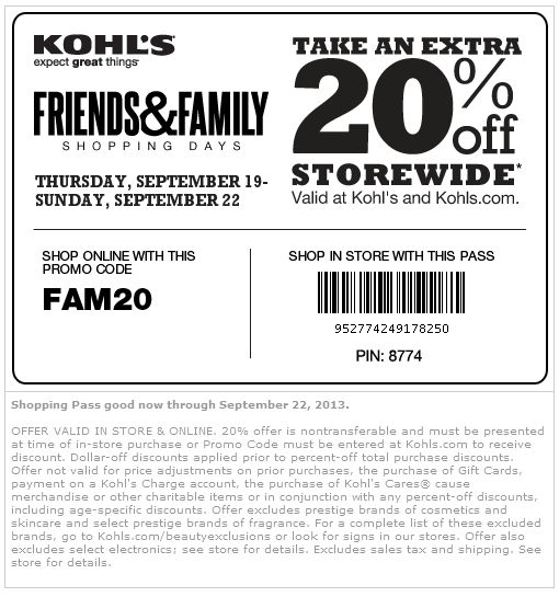 Kohls Shopping Tips for December, Stack promo codes. Kohl's is one of the few retailers that allows you to use more than one promo code per purchase. At Kohl's, you can stack a site-wide percentage off code with a specific dollar/percentage off code.
