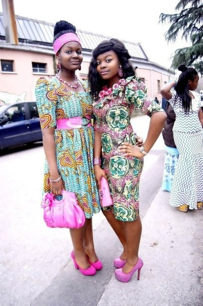Cute dresses. African style