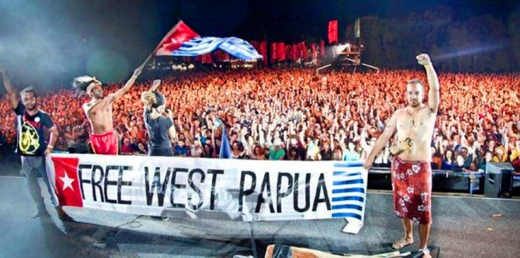 Free West Papua. PAPUA is not INDONESIA