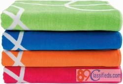 Our Luxury Beach Towels come in different Sizes, Weight and Fabric to suit your Usage and Needs
