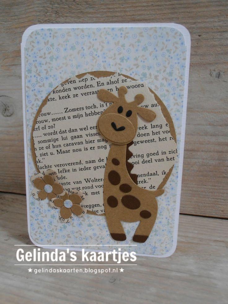 Gelinda's kaartjes: Giraffe