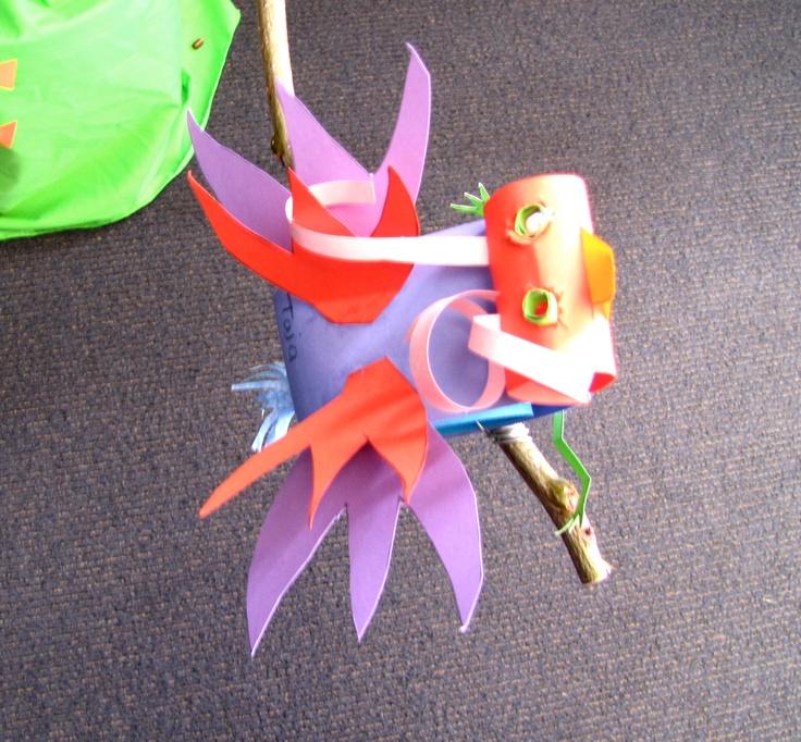 3D paper birds