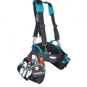 Electrician's Combo Package - Tool Belt Combo, Suspenders, and Gloves - Gatorback Tool Belts