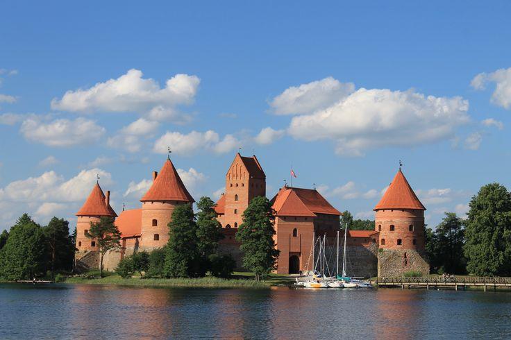 Fotografía: Cristina y Justo- Castillo de Trakai- Lituania