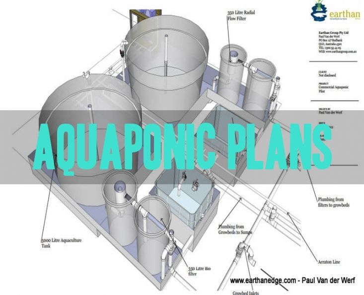 A few years ago we were contracted to draw up some plans for a commercial aquaponics pilot plans to one of our customers specifications.   This is a very low cost aquaponic system using some basic items…