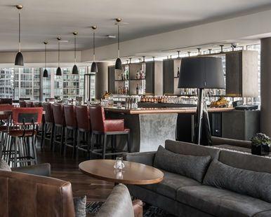 Conrad Chicago Hotel, IL - Restaurant and Lounge Seating | IL 60611