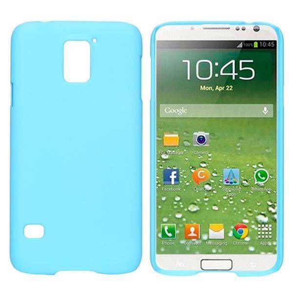 Lichtblauw hardcase hoesje voor Samsung Galaxy S5