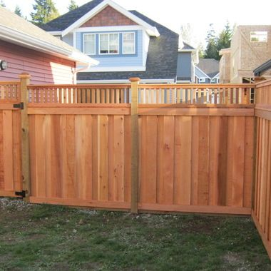 17 best images about gates fences on pinterest wooden for Craftsman style fence