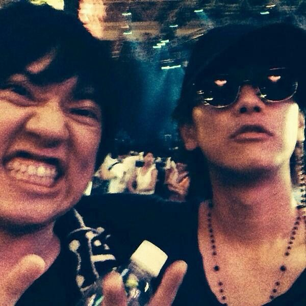 Takeru Sato and Taka