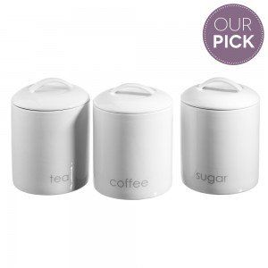 Ecology Tea, Coffee & Sugar Canisters