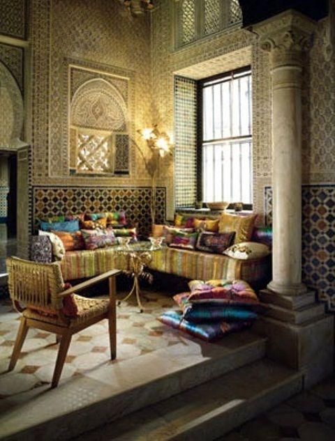 51 Relaxing Moroccan Living Rooms | DigsDigs
