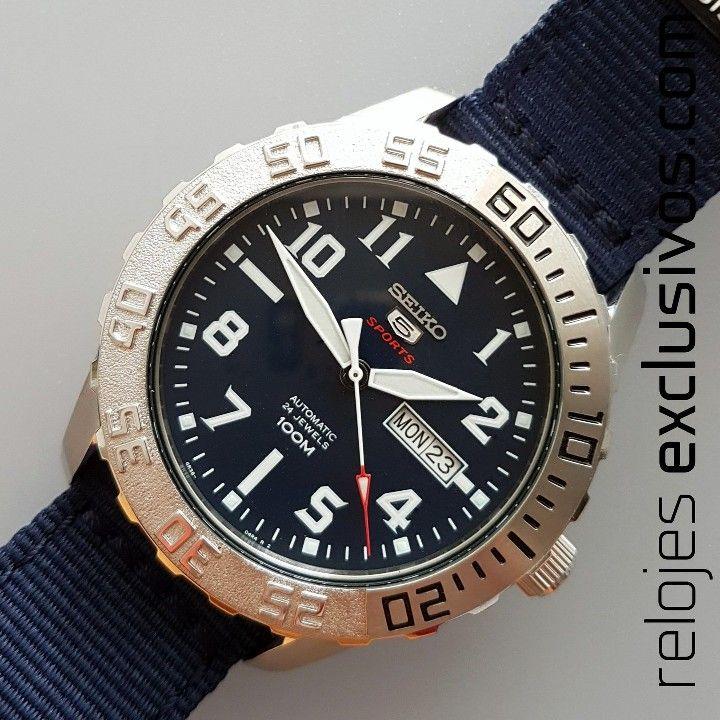 Seiko 5 Sports Day-Date SRP759K1   Relojes Exclusivos
