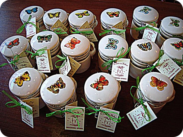 Μπομπονιέρα Βάπτισης, Μέλι με καρύδια (Ιούλιος 2010)