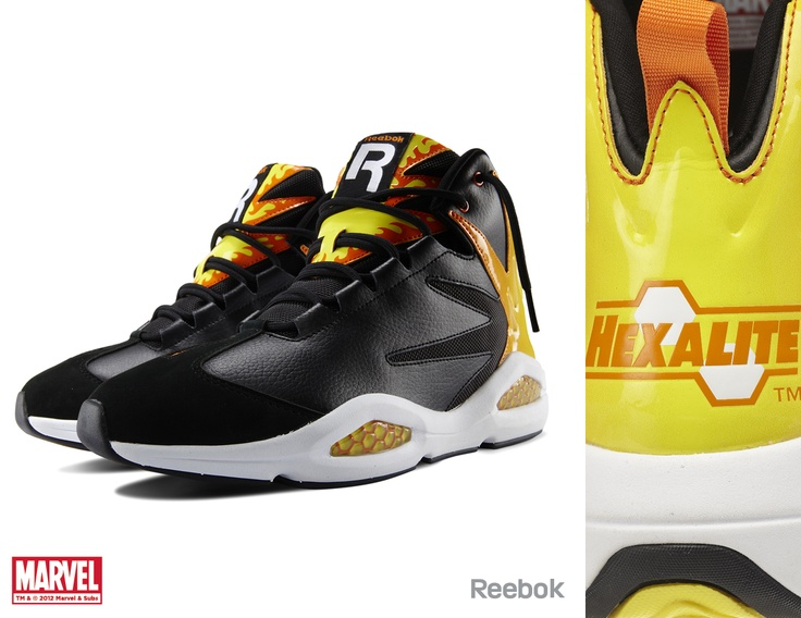 Marvel Character Themed Reebok Shoes!