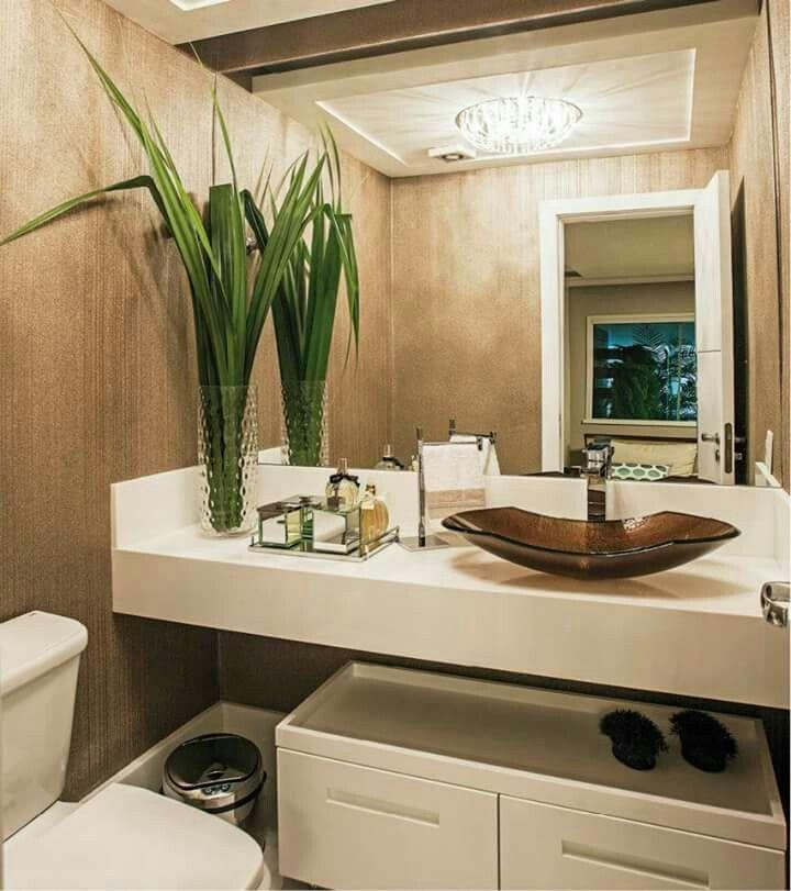 25+ best ideas about Banheiro Chique on Pinterest  Espelho chique, Decoração -> Banheiros Simples E Chique