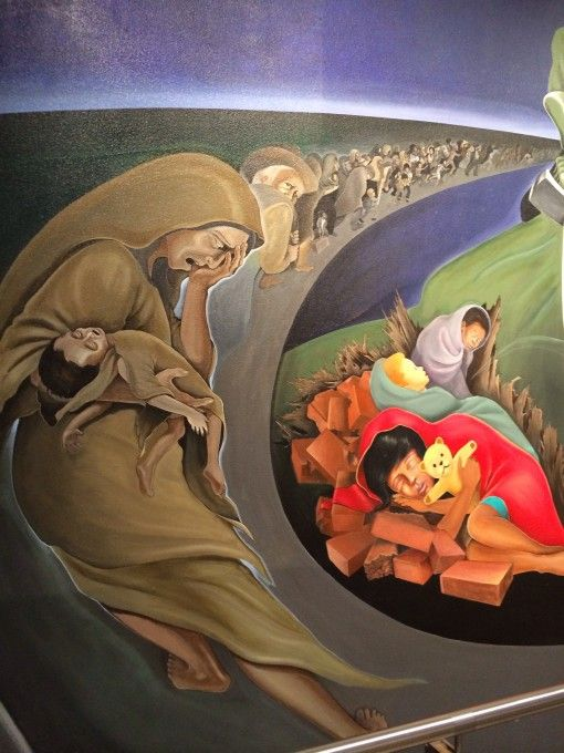 Eerie Murals At The Denver Airport Have Conspiracy Theorist Buzzing. Part 34