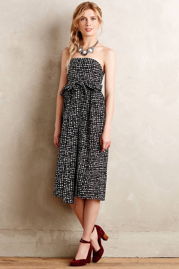 Tied Barcelona Dress by 4.collective #anthrofave #anthropologie