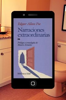 eBook en el retrete: Narraciones extraordinarias.