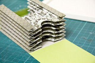 Paperbasics: Minibook mit Tags ( Anleitung )