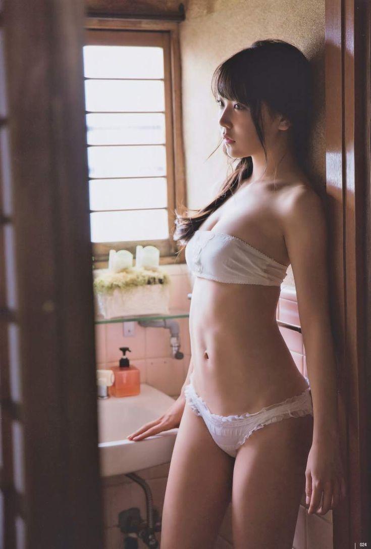 "ramoramone: "" 高校卒業のNMB白間美瑠(18)が変態水着でグラビアエースへ。 """