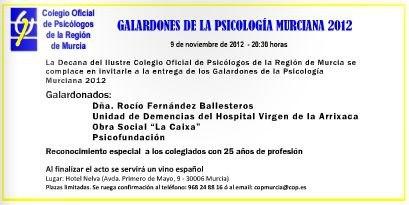 Colegio Oficial de Psicólogos de la Región de Murcia
