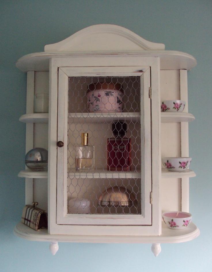 ThePaintedCameo: Shabby Chic Bathroom Cabinet Good Ideas