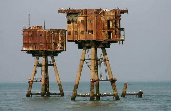 Las Fortalezas Marinas Maunsell de la Segunda Guerra Mundial - RUTA 33