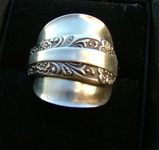 25 best ideas about spoon rings on silver