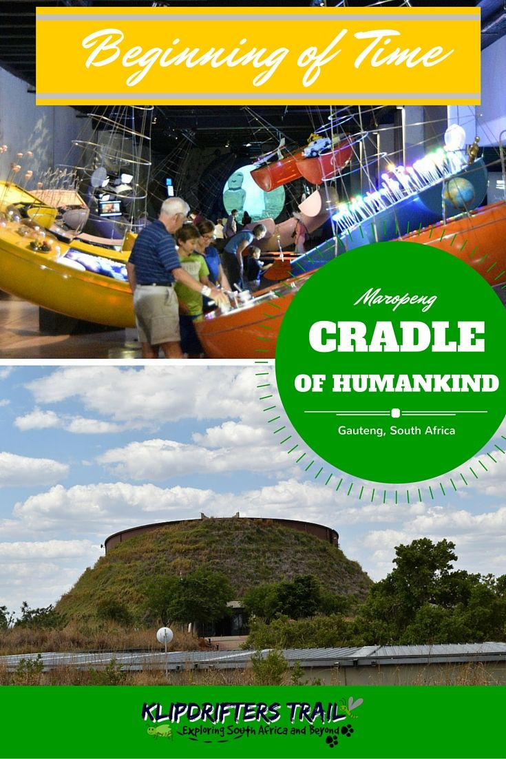 MAROPENG - CRADLE OF HUMANKIND Visit #Maropeng to go back to the begining of…