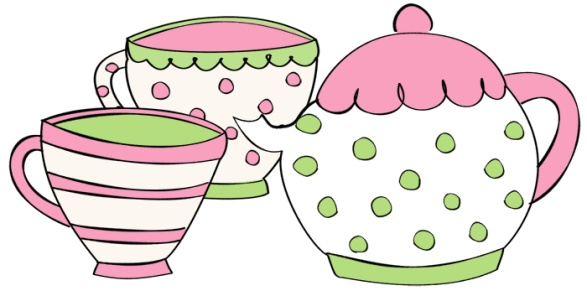 tea-cup-teapot-clip-art.gif (587×296) | Parties: Tea Party ...