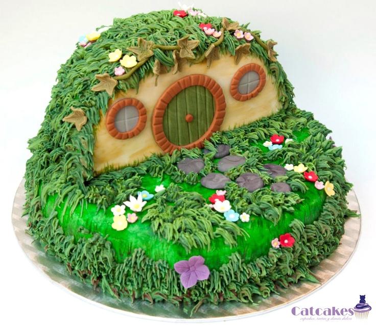 Catcakes - Cupcakes, tartas y demás dulces  The Hobbit cake