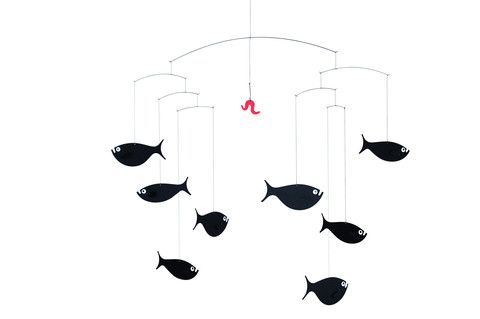 Flensted Shoal of Fish Mobile   Baby Nursery Mobiles - Brimful   $52