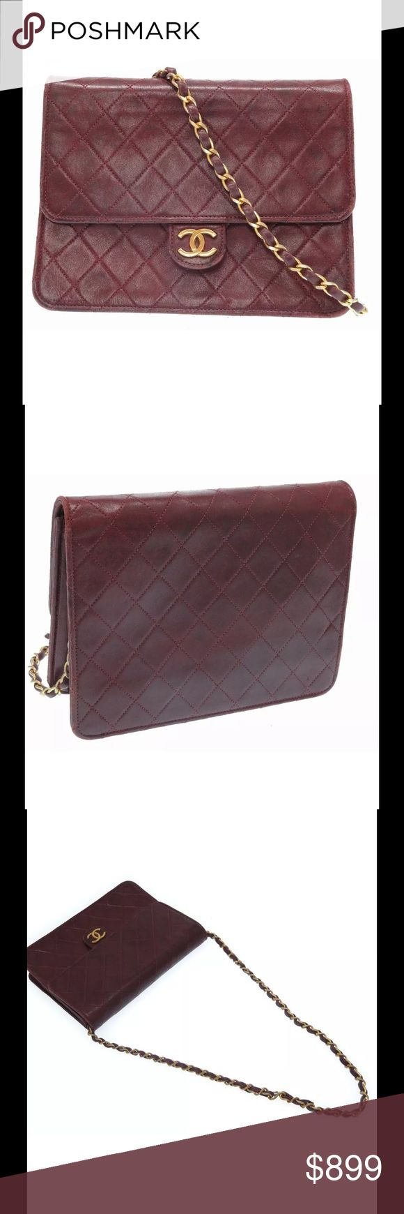 Authentic Chanel Shoulder Bag This beautiful Chanel bag is in need of some TLC but it still has a lot of life left. It is a great color that is sure to compliment any look. CHANEL Bags Shoulder Bags