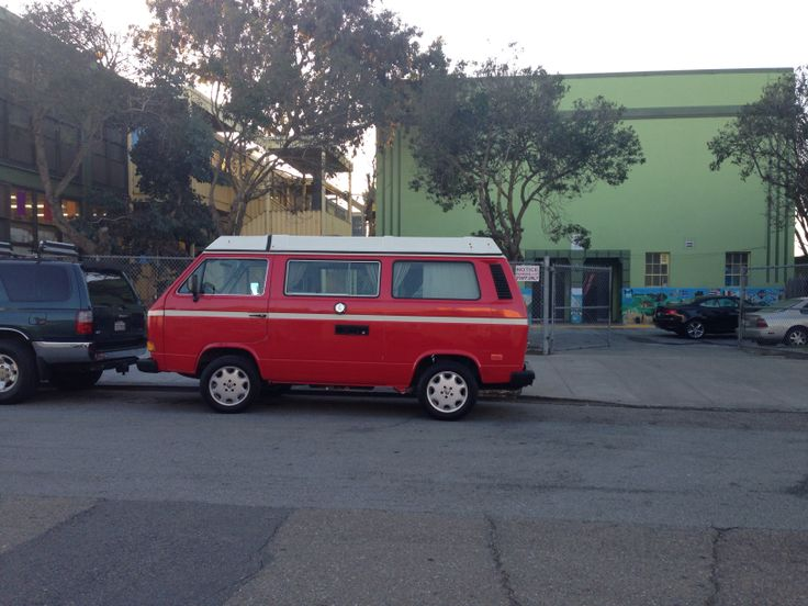 Bw bus in San Francisco