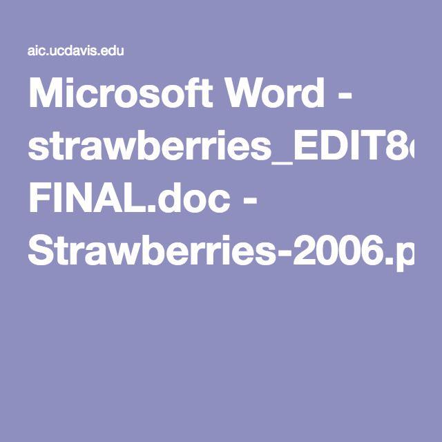 Microsoft Word - strawberries_EDIT8cMK-2mk FINAL.doc - Strawberries-2006.pdf
