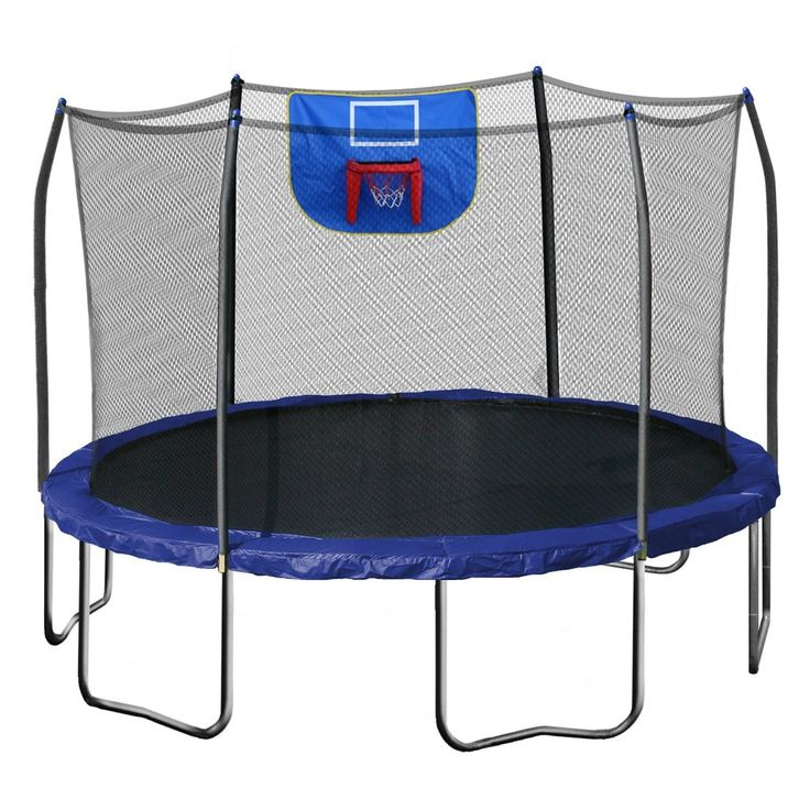 Get a Cheap Trampoline With Basketball Hoop and you will be slam dunking like the pros. You can add a basketball hoop to your existing trampoline or make sure that the trampoline that you purchase has a basketball hope already installed.