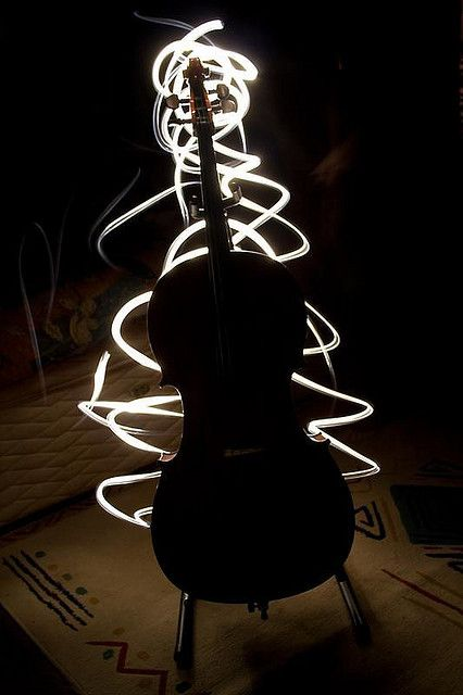 Cello by Torchlight