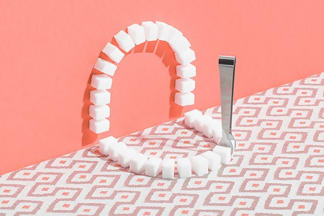 Sugar Teeth Still Lives - Marion Luttenberger illustre de manière ludique et colorée les effets néfastes des sucreries sur notre dentition