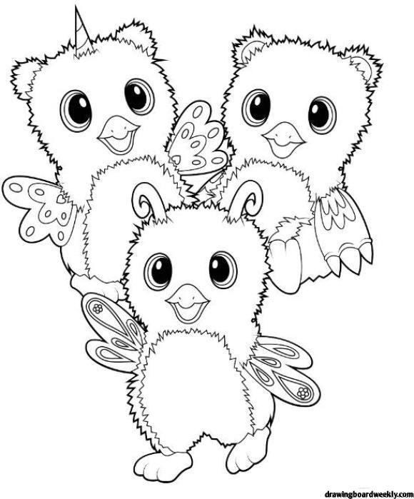 Hatchimals Coloring Page Coloring Pages For Kids Nick Jr